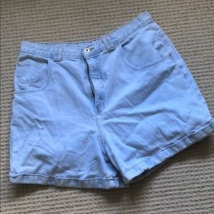 Pants - Vintage LA Blues high waisted denim short